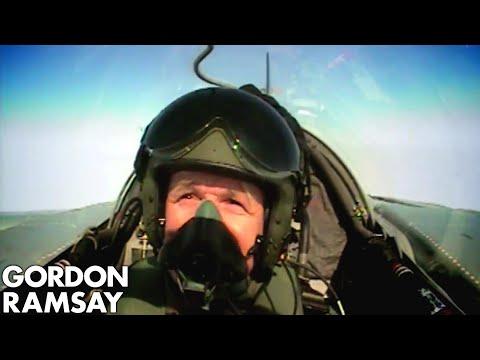 Cooking for RAF Pilots - Gordon Ramsay