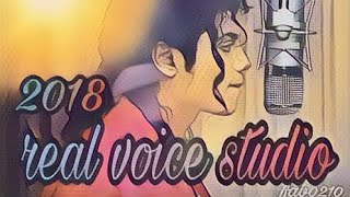 michael jackson - real voice studio (new song medley 2018)