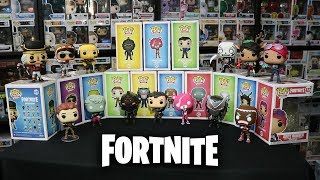 Fortnite Funko Pop Complete Set 360° Review!