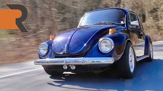 Modified 1974 VW Super Beetle Drag Car | The Autobahn Barn Find!