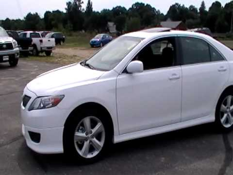 2011 Toyota Camry Se Sunroof Alloys Black Interior Www