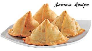 Samosa Recipe video - Aloo Paneer Samosa Recipe - Punjabi Samosa Recipe - Hindi 2017