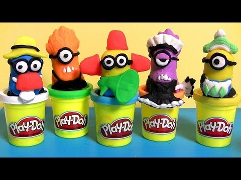 Play Doh Minions Mayhem Despicable Me - Playdough Créations Chaotiques Mi Villano Favorito video