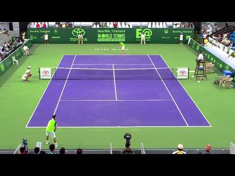 David Ferrer VS John Fabio fognini 02 01 58  3th Place
