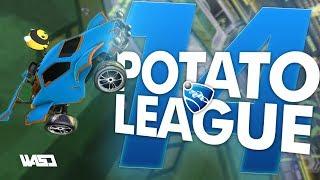 POTATO LEAGUE #14   Rocket League Funny Moments & Fails