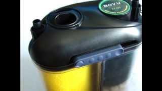 External Aquarium Canister Filter (BOYU EF-05) Set Up Guide - All Pond Solutions