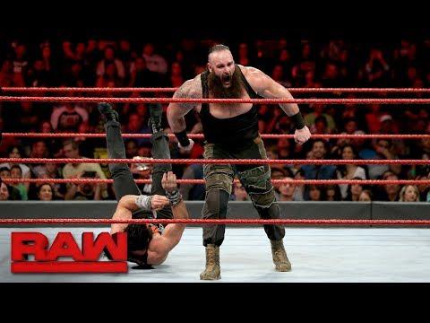Braun Strowman vs. Elias: Raw, Feb. 26, 2018 thumbnail