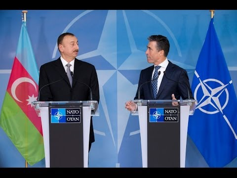 NATO Secretary General with President of Azerbaijan - Joint Press Point, 15 January 2014