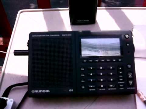 Grundig G5  Contesting Europe on 15 meters  08.20.2001 part3