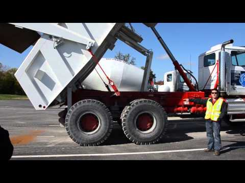 J&J dump bodies featured at Western Star/Allison Ride and Drive Event
