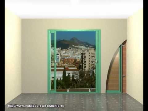 Puertas y ventanas correderas ocultas instalacion y - Puertas correderas ocultas ...