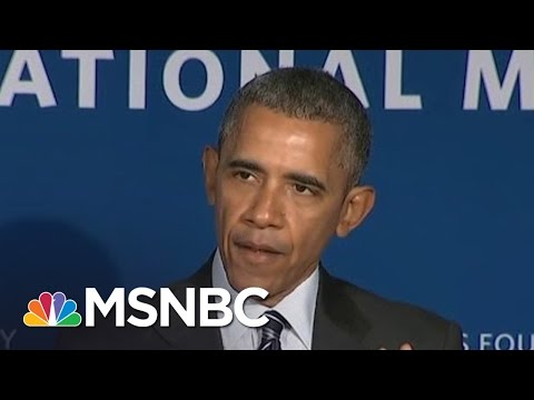 President Obama: 'We Will Close The Wage Gap' | MSNBC