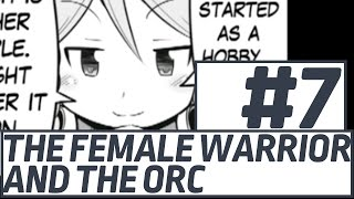 The Female Warrior And The Orc - 7