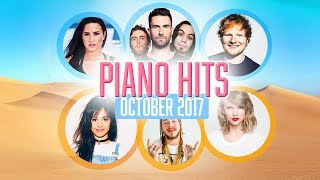 Baixar Piano Hits Pop Songs October 2017 : Over 1 hour of Billboard hits -  for classroom studying
