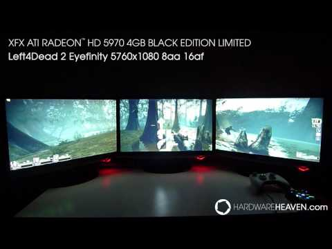 Left 4 Dead 2 - Eyefinity - XFX Radeon 5970 4GB Black Edition Limited (5760x1080)