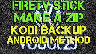 [ How-To ] - Create a zip backup of kodi setup and restore