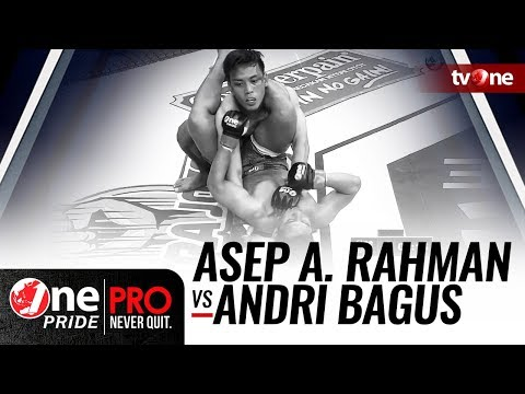 [HD] Asep A. Rahman vs Andri Bagus - One Pride MMA - FULL FIGHT