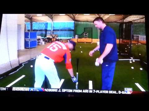 Learning to head like MLB player Dustin Padroia. With MLB.com & Billy Ripken.