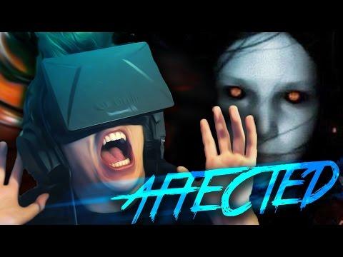SUSTO TREMENDO EN MI CARA | Affected Oculus Rift