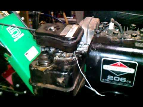 Describing the repairs on a 83 roper rally tiller  YouTube
