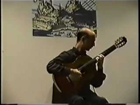 David Leisner, guitar, Corfu Guitar Festival, 1999