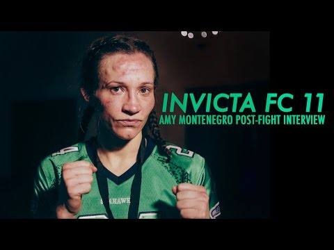 Invicta FC 11: Amy Montenegro Post-Fight Interview