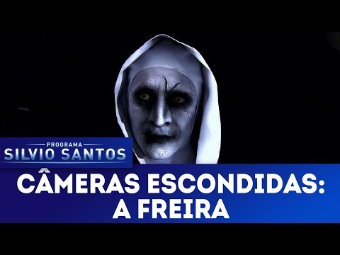 Watching video A Freira - The Nun Prank | Câmeras Escondidas (02/09/18)