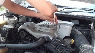Replacing a Holden Commodore thermostat