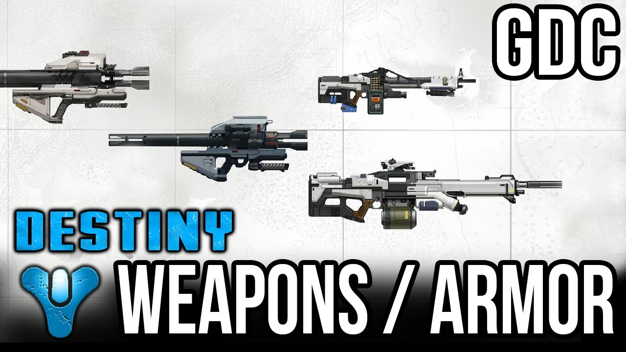 Destiny   - Weapons ...
