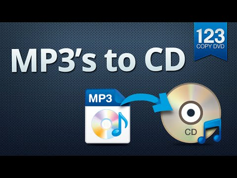 Download 123 Copy DVD  MP3 files to CD