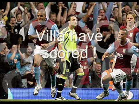 ASTON VILLA LION HEARTS ANTHEM/SONG Video