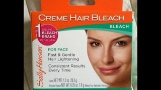Sally Hansen Creme Hair Bleach - Recenzja