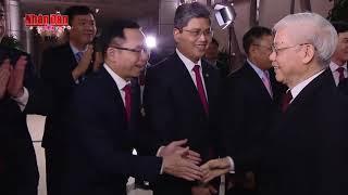 Tổng Bí thư, Chủ tịch nước Nguyễn Phú Trọng thăm, chúc, kiểm tra công tác trực Tết các đơn vị tại Hà