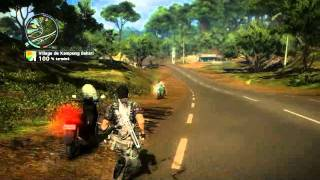 Just Cause 2 cascade roue