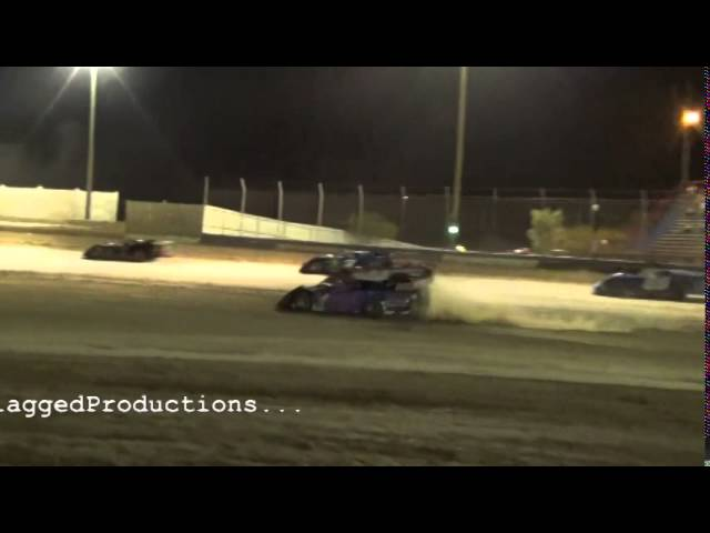 Late Model Main At TIR July 4th 2014