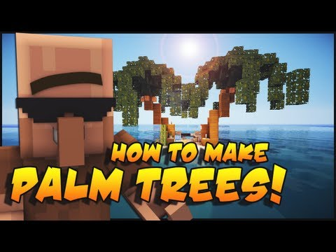 Minecraft: How To Make Palm Trees