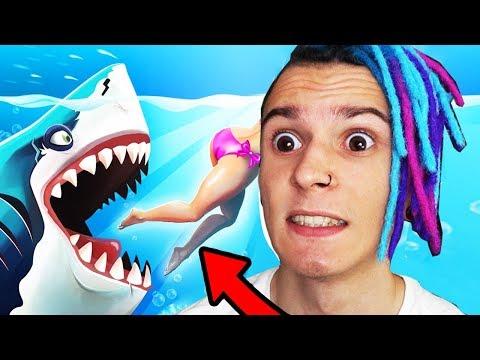 ОЧЕНЬ ГОЛОДНАЯ АКУЛА !! (HUNGRY SHARK EVOLUTION)
