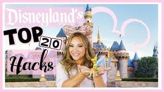 Disneyland's Top 20 Hacks   How to do Disneyland like a Pro!