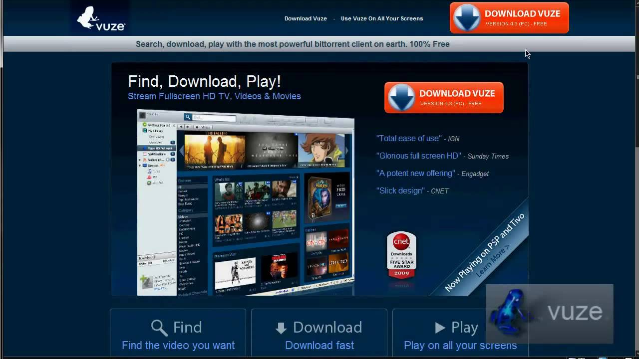 Movie Sites Vuze Vuze Use For Ipad. Vuze Templates Download EBook ...