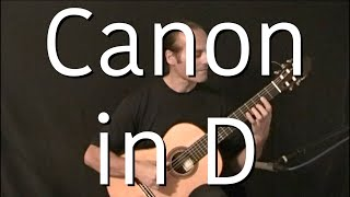Canon In D Michael Marc Acoustic Guitar