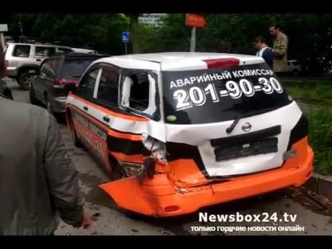На Котельникова водитель универсала разбил две машины аварийных комиссаров
