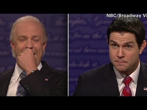 SNL spoofs Biden-Ryan debate