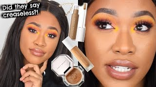 TESTING FENTY BEAUTY CONCEALERS & 7hr WEAR TEST!