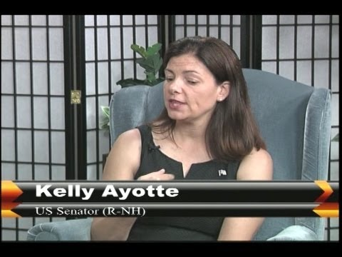Senator Kelly Ayotte Sits down with hosts of Legislators Lounge.