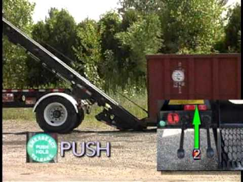 BENLEE Two Box roll-off trailer training video