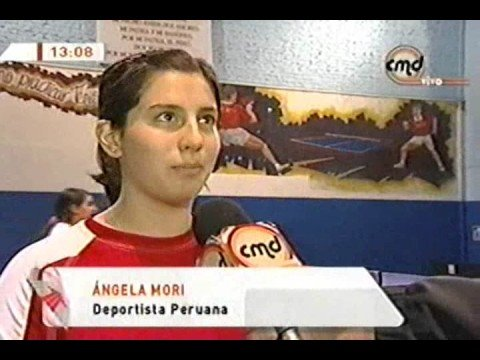 Tenis de Mesa Peru - Angela Mori y Nadia Quiñonez (CMD) Video