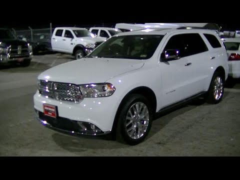 2014 Dodge Durango Citadel Walkaround Youtube