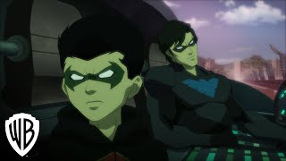 Justice League vs. Teen Titans clip - Robin & Nightwing