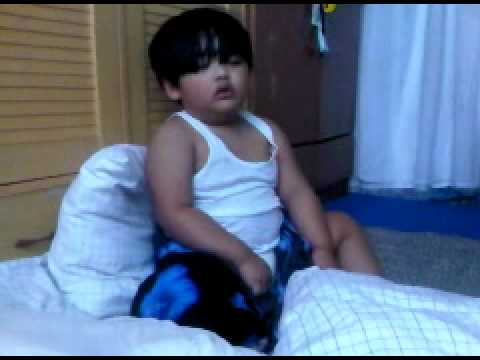 Funny Video Clip 2 Year Old Baby Sleeping.3gp video