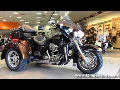 New 2013 Harley-Davidson FLHTCUTG Tri Glide Ultra Classic 110th Anniversary